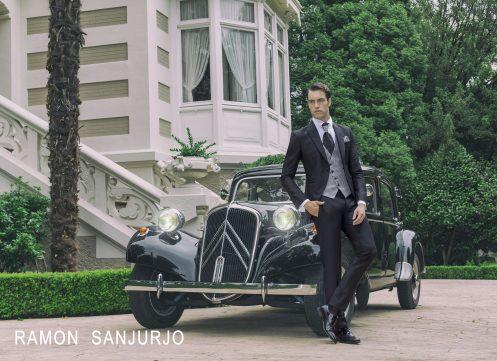 Trajes de novio Ramón Sanjurjo 2019: una colección inspirada en el glamour y el jazz de los años 20