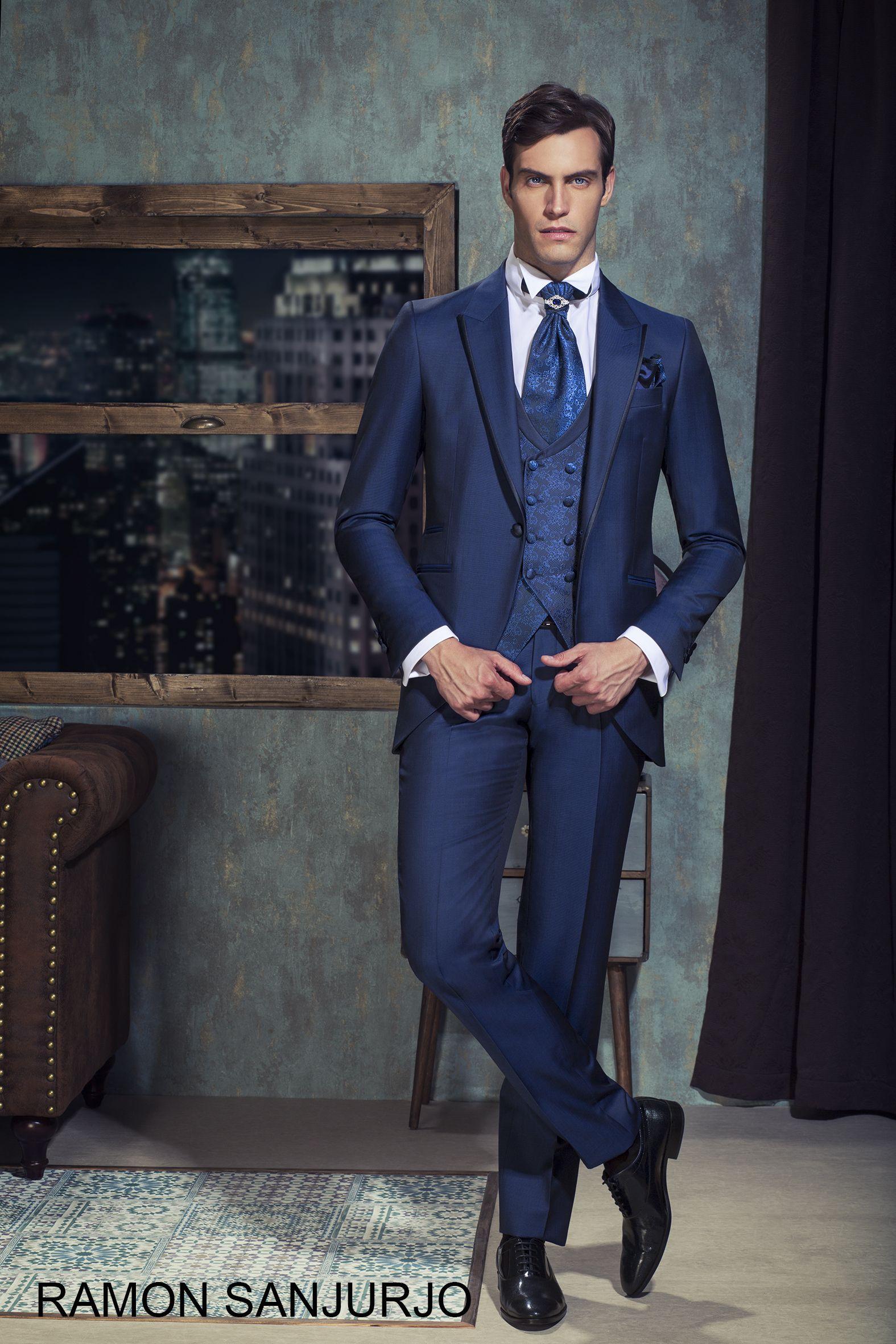 60% barato diferentemente grandes ofertas en moda Ceremonia 2018. Ramón Sanjurjo Moda nupcial para hombre. Trajes